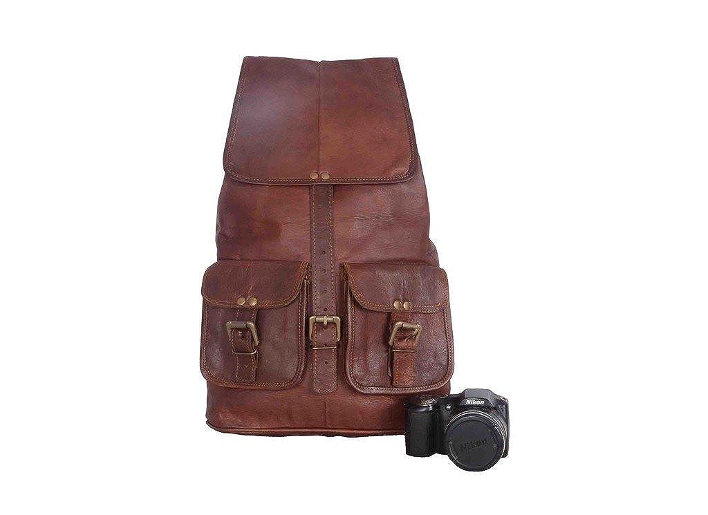 Vintage Leather Bazaar Rucksack Distressed Real Leather Back Pack Bags Genuine Leather Ruck Sack Bag