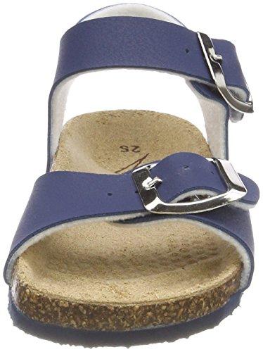 Primigi PBK 14266, Sandalias con Punta Abierta Para Niñas Azul (blue)