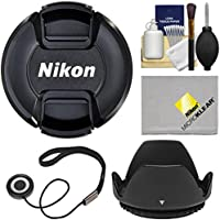 Nikon LC-55A 55mm Snap-On Lens Cap with Hood + Accessory Kit