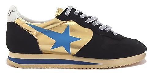 GOLDEN GOOSE Zapatillas Para Mujer Nero e Oro Size: 39 jj27GrSg