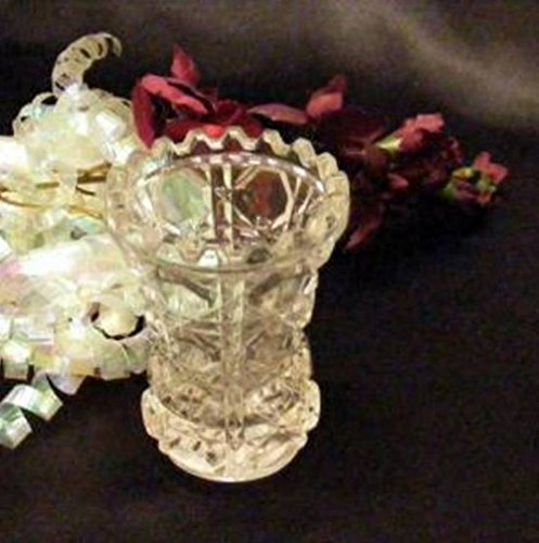 Vintage Federal Glass Windsor Toothpick Holder