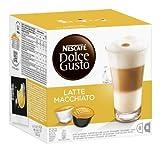 Nescafé Dolce Gusto Kaffeekapseln, Latte Macchiato, 16 Kapseln für 8 Getränke, 585g