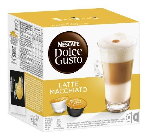 Nescafé Dolce Gusto Kaffeekapseln, Latte Macchiato, 3er Pack (48 Kapseln) 585g