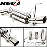 "Rev9 (CB-1021) FlowMaxx Exhaust Kit For Ford Mustang V6 2005-10, 2.5"" Pipe, Sports Muffler , Straight Pipe, Stainless,"