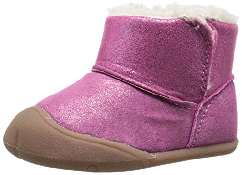 Carter's Every Step Stage 1 Bucket Early Walker Boot (Infant), Pink Glitter, 2.5 M US Infant