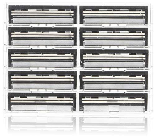 100 Personna Twin 2  Razor blades - Compatible with GIllette