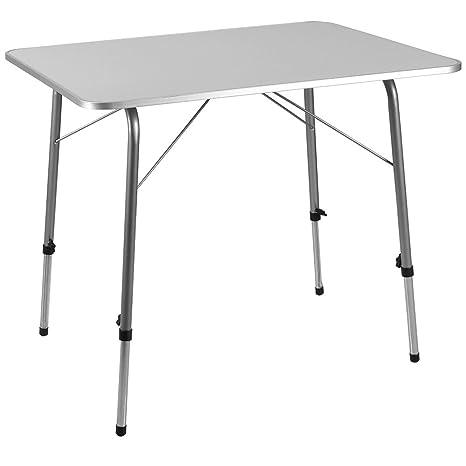 Deuba Mesa plegable de aluminio para el camping jardín ...