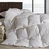 Dreamstead by Cuddledown Modern Goose Down-Alternative Hypoallergenic Duvet Comforter, King Warmer, Windowpane