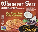 A tempting blend of tropical coconut and rich, dark European chocolate make Pamela's Oat Chocolate Chip Coconut Whenever Bars a delicious hit. Made with gluten-free oats, chia seeds and lightly sweetened with agave and coconut sugar, these ba...