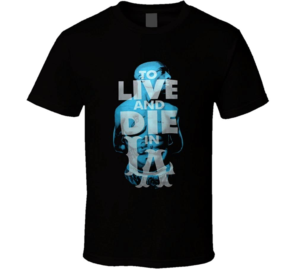 1953be547a43 T-Shirt Bandit Tupac Shakur To Live and Die In La Hip Hop Rap Classic T  Shirt XL Black: Amazon.ca: Clothing & Accessories