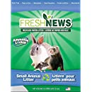 Fresh News Paper Small Animal Litter, 10,000-Cubic Centimeter