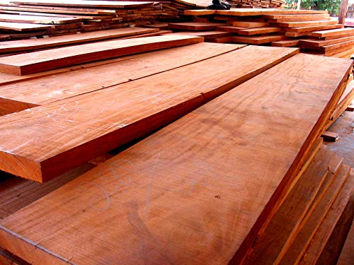 Hardwood Mahogany Feet - 8/4 FAS Grade Kiln Dried African Mahogany Wood Lumber Boards - 20 Board Feet by Belsimax