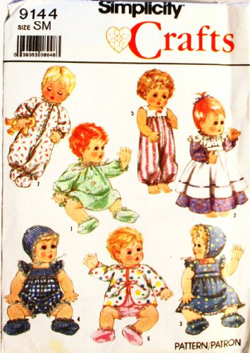 Simplicity 9144 Crafts Pattern Clothes