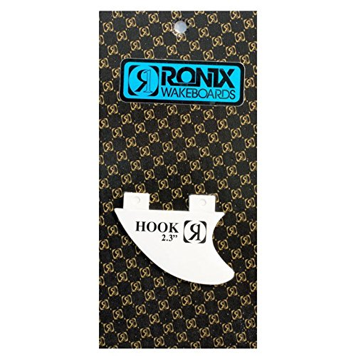 "Ronix Fiberglass Bottom Mount Surf Fin White 2.3"" Sz 2.3in"