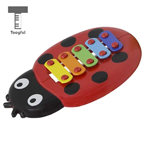 Amazon com: Sala-Fnt - 5-notes Handheld Ladybug Xylophone