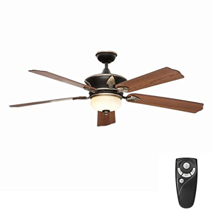 Home decorator collection wineberg 60 in old world gold ceiling fan