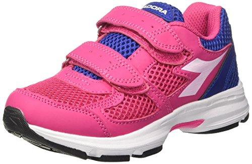 Diadora Shape 8 Jr V, Zapatillas de Running Para Niños Rosa (Rosa Shocking/bianco Ottico)