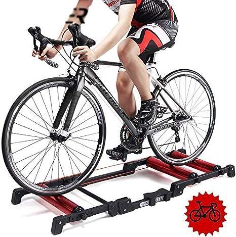 Rodillos bicicleta Bicicleta plegable - Rodillo entrenamiento ciclismo - Entrenador bicicleta plegable Entrenador turbo bicicleta - Soporte entrenador bicicleta interior - Soporte entrenamiento bici: Amazon.es: Deportes y aire libre