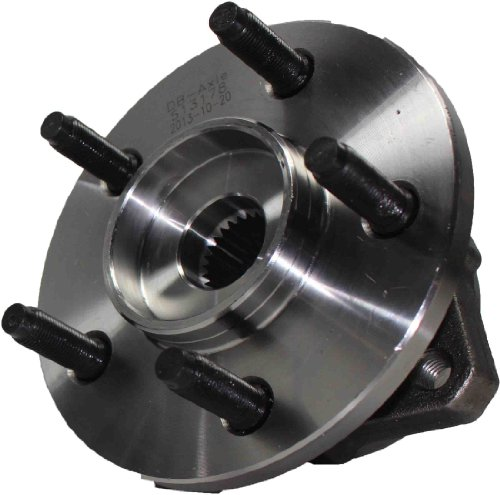 Detroit Axle 513178 Both Front Wheel Hub and Bearing Assembly 5 Lug for 2002 2003 2004 2005 Jeep Liberty Non-ABS