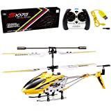 Cheerwing S107/S107G Phantom 3CH 3.5 Channel Mini RC Helicopter with Gyro Yellow