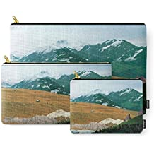 Society6 Experiment Am Berg 21 Carry-All Pouch