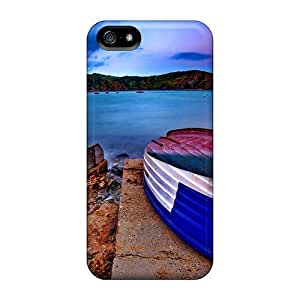 Hot Style WgZ1005KHgp Protective Cases Covers For Samsung Galaxy S5 I9600/G9006/G9008(lost Boat) hjbrhga1544