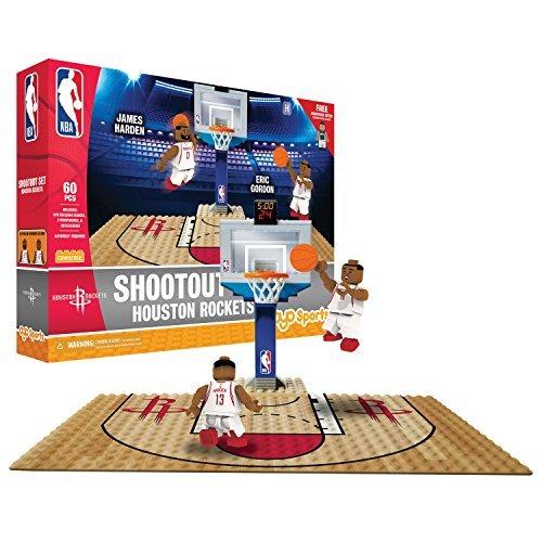 OYO NBA Houston Rockets Display Blocks Shootout Set, Small, No Color by OYO