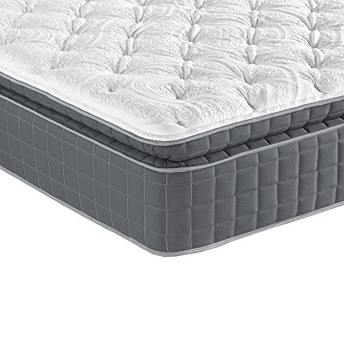 Sleep Inc. 14-Inch BodyComfort Elite 7000 Luxury Pillow Top Mattress, Twin