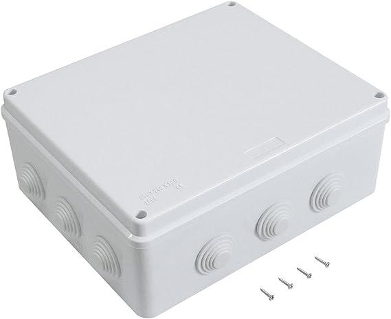 LeMotech ABS Plastic Dustproof Waterproof IP65 Junction Box