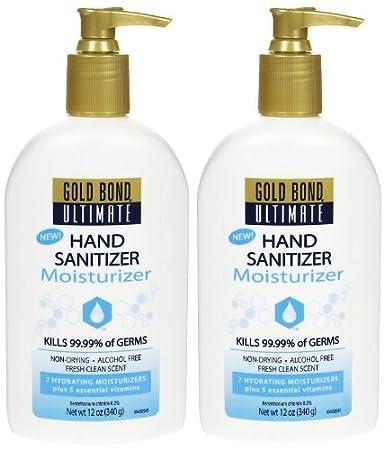 Amazon Com Gold Bond Ultimate Hand Sanitizer Moisturizer 12 Oz