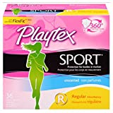 Playtex Sport Unscented Multi-Pack Tampons 36 ea (Pack of 11)