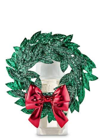 リールキノコじゃない【Bath&Body Works/バス&ボディワークス】 ルームフレグランス プラグインスターター (本体のみ) マグノリアリース Wallflowers Fragrance Plug Magnolia Wreath [並行輸入品]