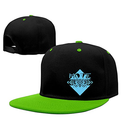 Price comparison product image Move Geometry Art Hip Hop Cool Snapback Hat Street Dancing