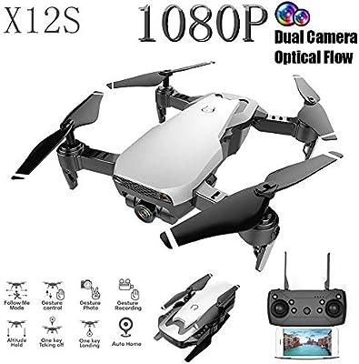 X12 Nuevo Drone,Webla, Xs12 2.4Ghz 4Ch Wifi Fpv Flujo Óptico Doble ...