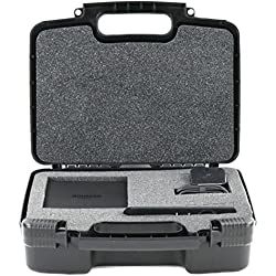 Hard Storage Carrying Case For Amazon Fire TV | Streaming Media Player - Stores Streaming Media Players Safely In Protective Foam- Black