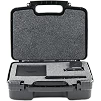 Hard Storage Carrying Case For Amazon Fire TV   Streaming Media Player - Stores Streaming Media Players Safely In Protective Foam- Black