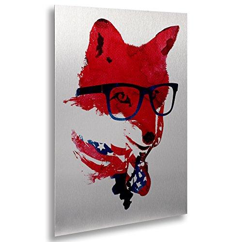 Trademark Fine Art 'American Fox' Canvas Art by Robert Farkas