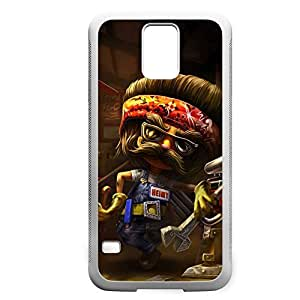 Heimerdinger-002 League of Legends LoL case cover Iphone 4/4S - Rubber White