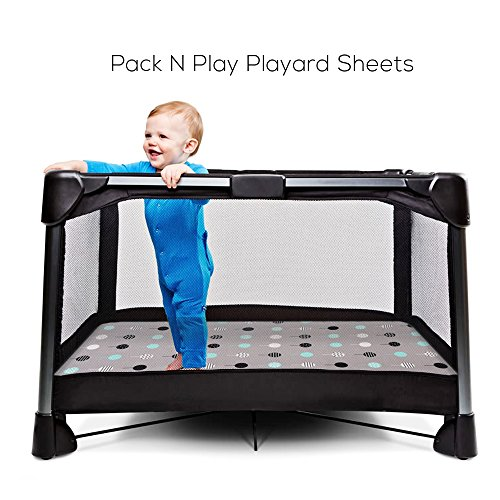 Stretchy Fitted Pack Play 2 Portable Crib Playard