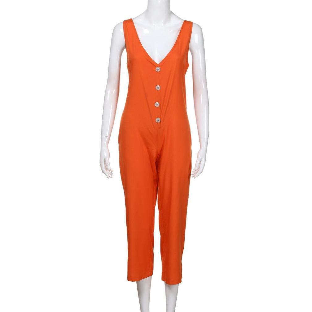 Zarup♥♥♥[Pantalones de yoga], Pantalones de babero de tirantes sólidos mujeres Batas casuales Mono corto de Dungaree Mono corto: Amazon.es: Ropa y ...