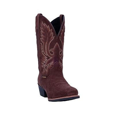 Laredo Men's Grey Colton Western Boot Narrow Square Toe - 68477 | Western