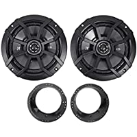 1998-2013 Harley Davidson FLHT FLHTC Kicker Factory Speaker Replacement Kit