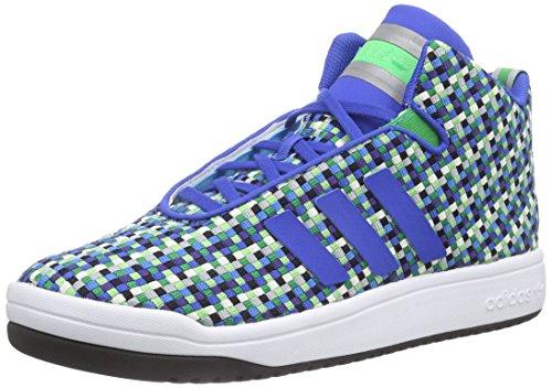 adidas Originals Herren Veritas Weave Mid High-Top Blau (Blue/Blue/Ftwr White)