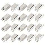 Uxcell a14112700ux0084 Cupboard Door 48 mm Long Single Magnetic Catch Fastener Latch 20 Pcs (Pack of 20)