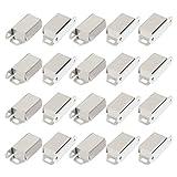 uxcell® Cupboard Door 48mm Long Single Magnetic Catch Fastener Latch 20 Pcs