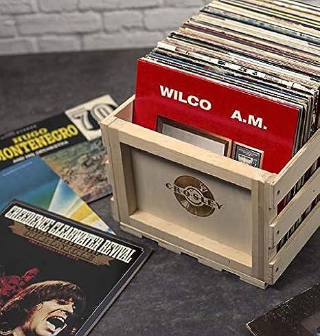 Amazon.com: Crosley Record Caja de almacenamiento. talla ...