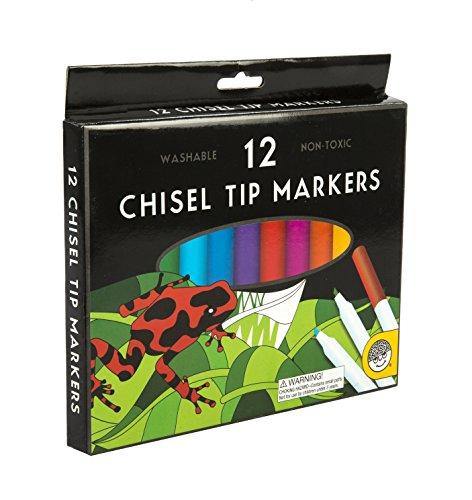MindWare's Chisel Tip Markers: Set of 12