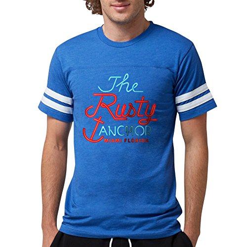 (CafePress - Golden Girls Rusty Anchor T-Shirt - Mens Football Shirt )