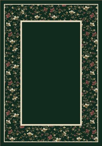 Design Center Garden Glory Emerald Rug Rug Size: 7'8