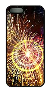 iPhone 5s Case, iPhone 5s Cases - Pyrotechnics PC Polycarbonate Hard Case Back Cover for iPhone 5s¨CBlack